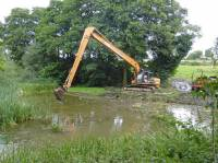 Clearing the silt for Lord Bradford Estates