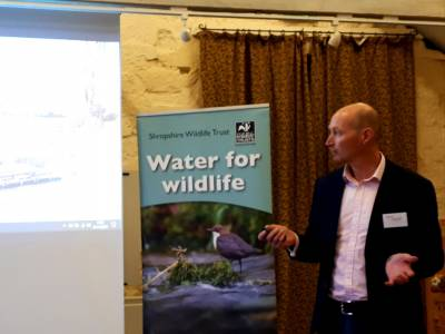 WM Longreach attended the Shropshire Wildlife Trust, River Hubs Conference this month in Shrewsbury.  This conference invited practitioners and professionals to learn about the wide range of work happening in the county to protect and enhance watercourses.  Our Director provided the environmental contractors perspective, presenting on the wide range of river restoration projects tackled over the years and how new innovations can overcome challenges and help protect the environment and watercourses.